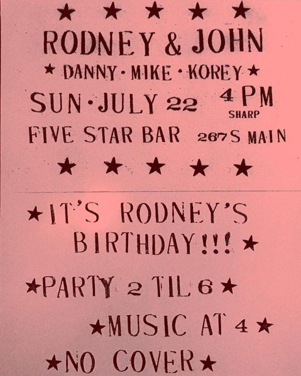 rodney bday